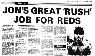 Workington V Carlisle United 16-8-1982 Match Report | by cumbriangroundhopper