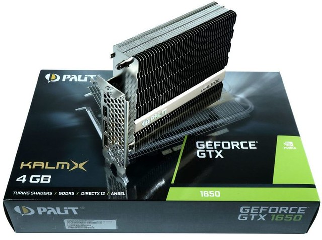 Palit GTX 1650 KalmX