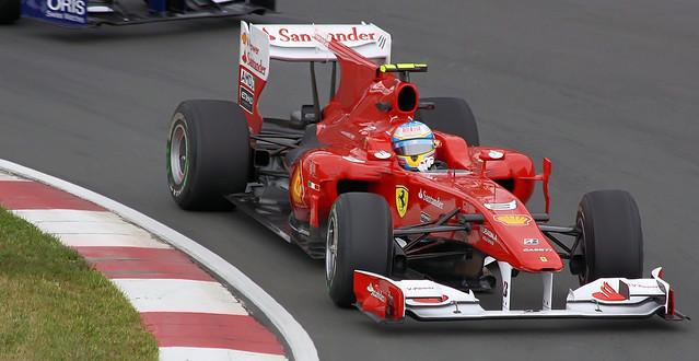 Fernando Alonso 2010 Ferrari