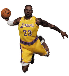 NBA 史上最強小前鋒!MAFEX 雷霸龍‧詹姆斯 洛杉磯湖人隊(マフェックス No.127 LeBron James Los Angeles Lakers)