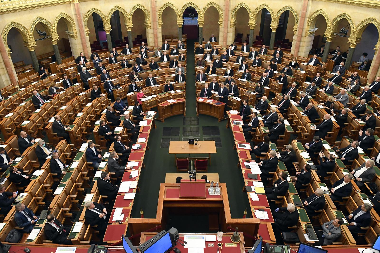 Nem járult hozzá az ellenzék a felhatalmazási törvény keddi elfogadásához