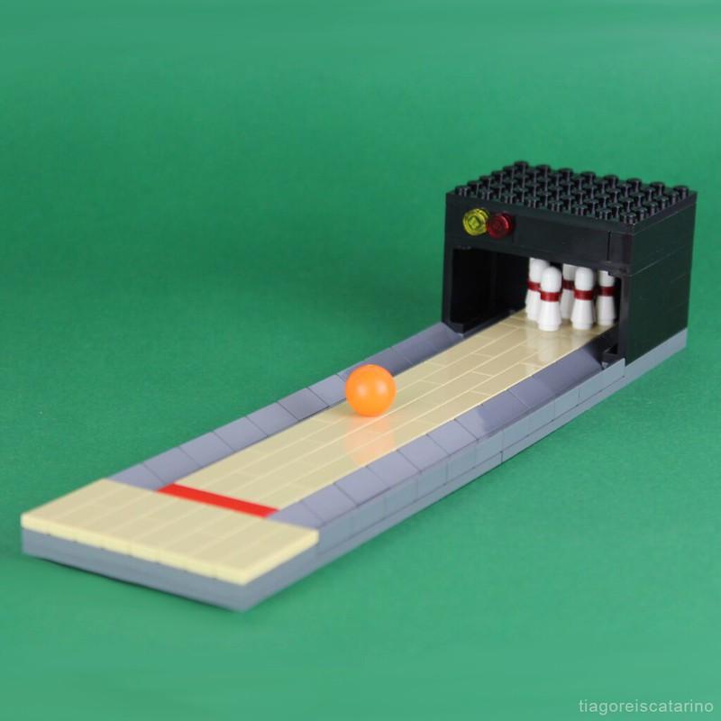 LEGO Bowling Lane