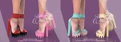 "Phedora for Belle Event ~ ""Everly"" platforms ♥"