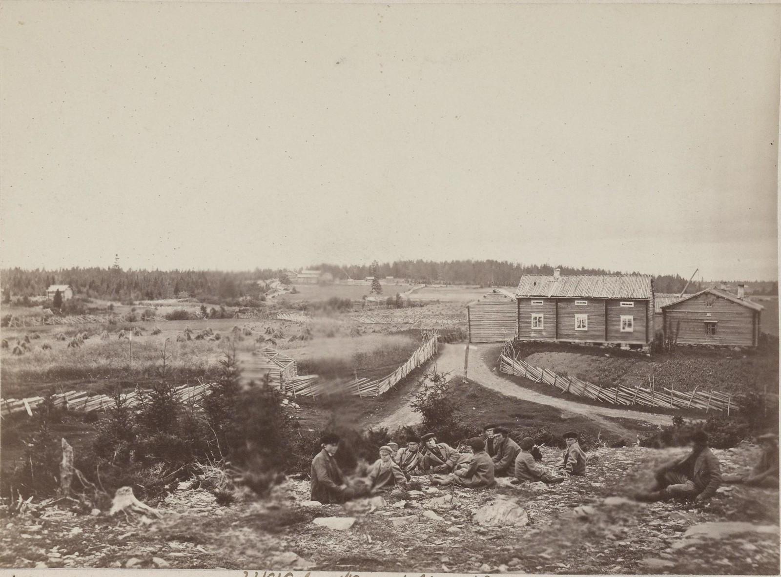 21. 1867. Уккола. Северная Финляндия