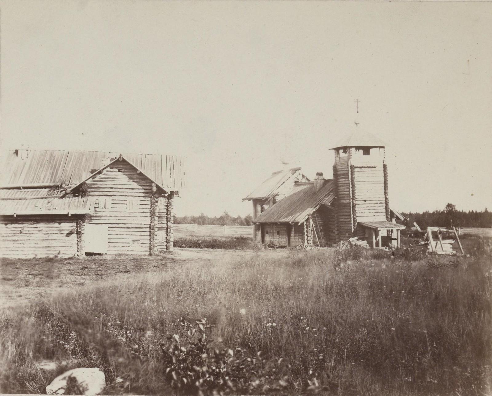 13. 1867. Церковь на острове Пюхя-Саари