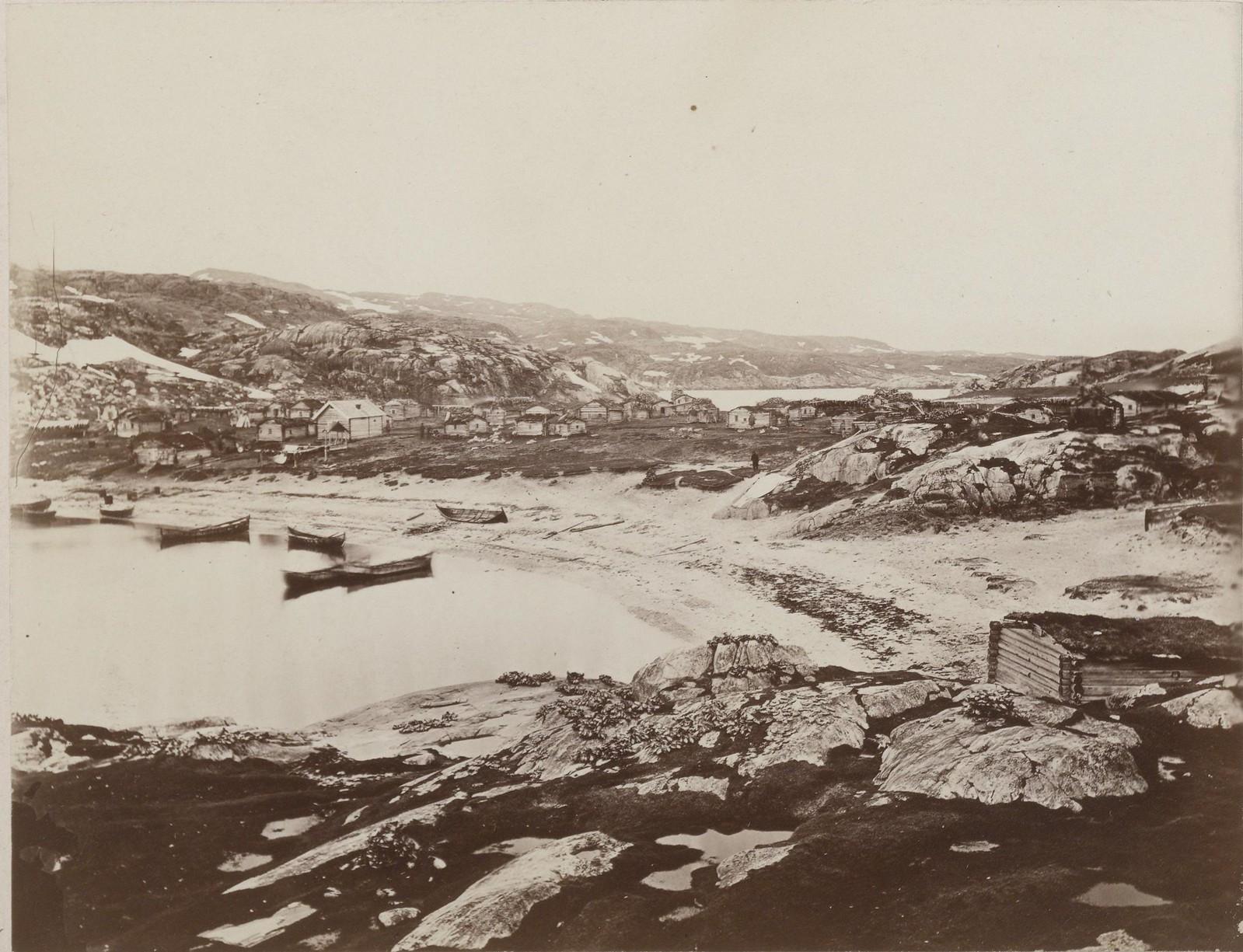 11. 1867. Рыбацкая деревня