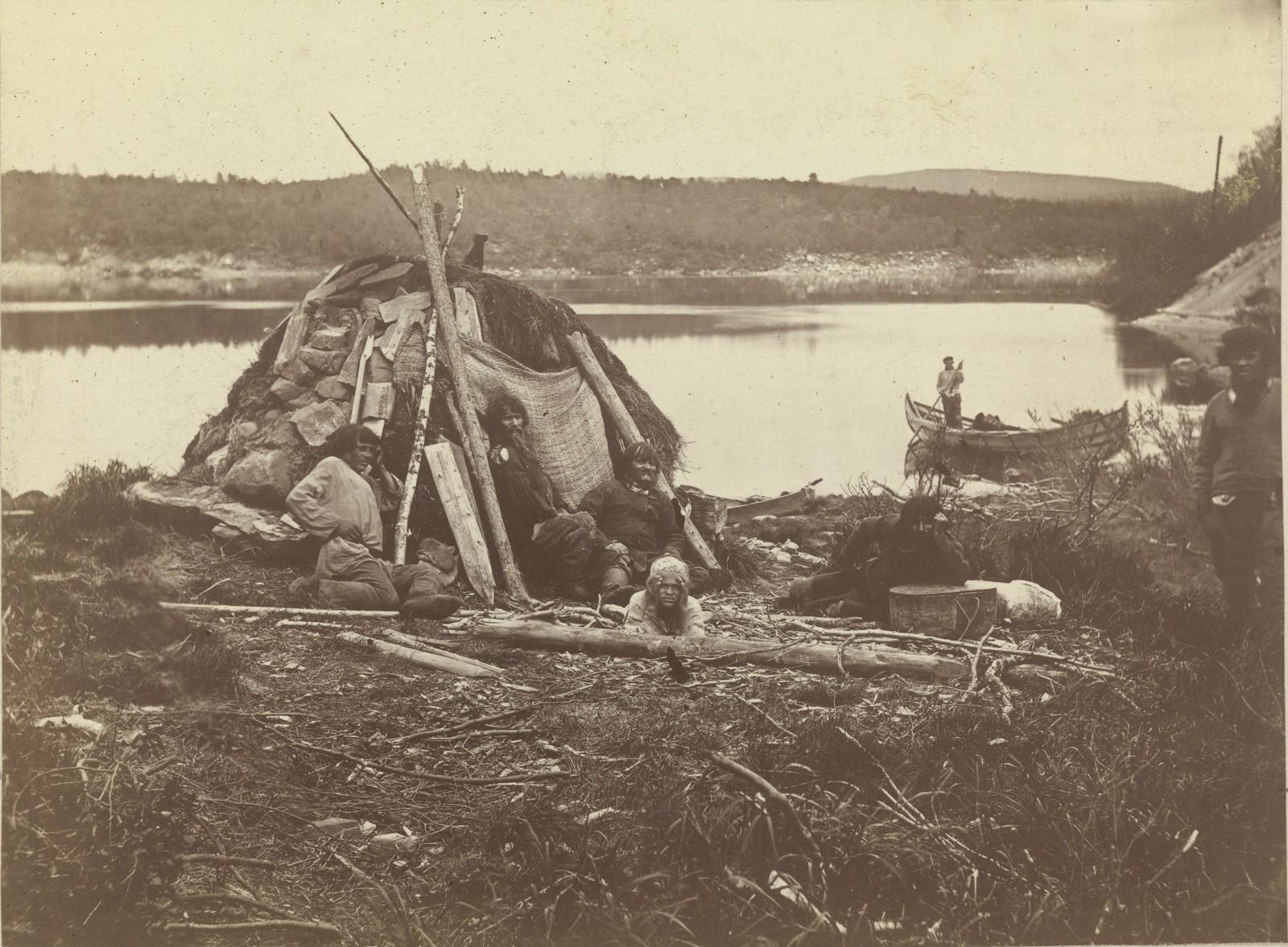 09. 1867. Хижина лапландца на реке Туломе