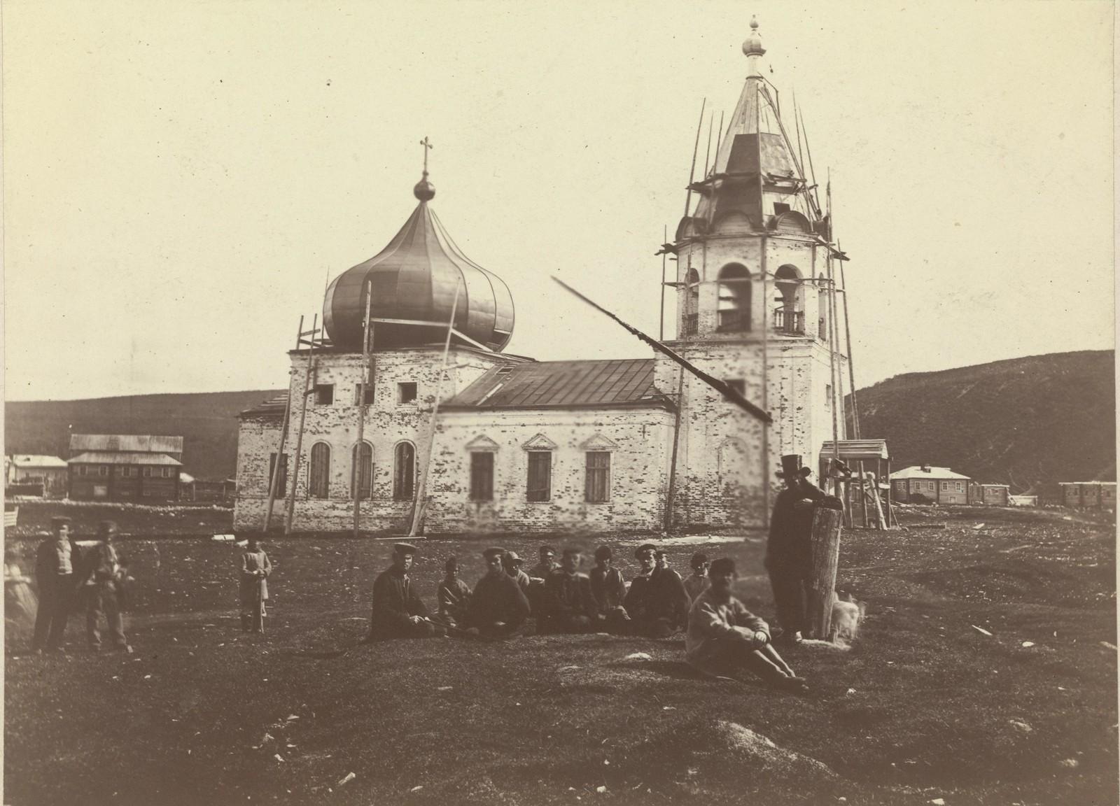 03. 1867. Кола. Восстановление Благовещенской церкви