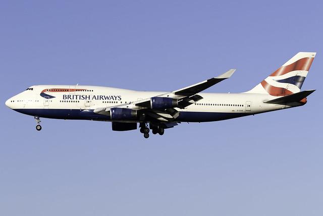 British Airways 747-400 G-CIVE at Heathrow Airport LHR/EGLL