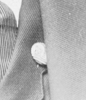 2020-03-23. Unidentified lapel pin