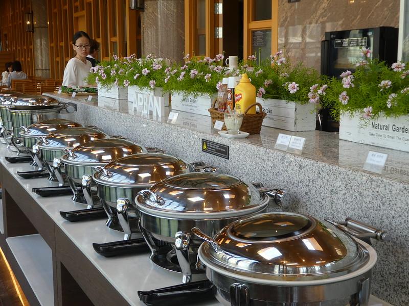 Breakfast at Arban Hotel, Busan, South Korea