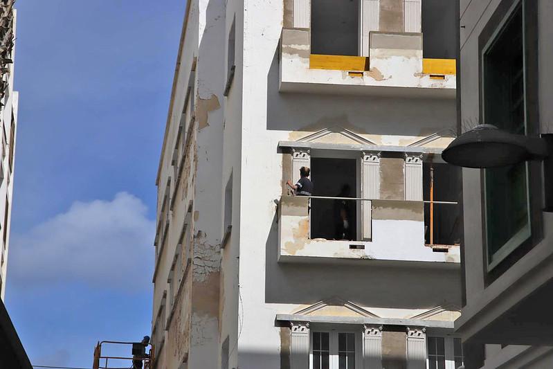 Obras durante el estado de alarma 23-03-20