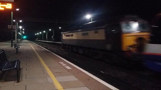 57305 at Cheddington