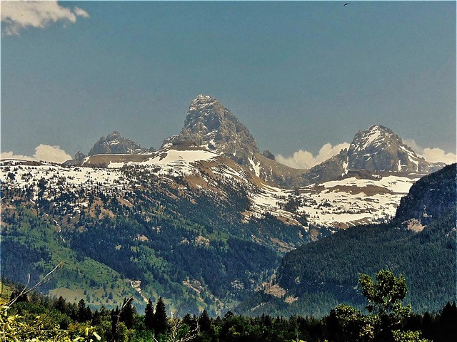 View from the west of Grand Teton