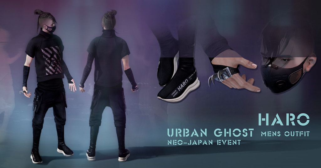 HARO URBAN GHOST OUTFIT