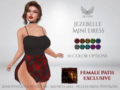 [Ari-Pari] Jezebelle Mini Dress