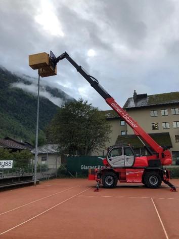 2019 Einbau Allwetterplatz