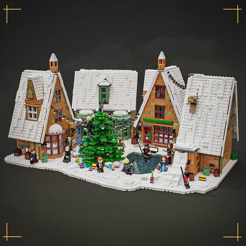 Magic of Christmas in Hogsmeade