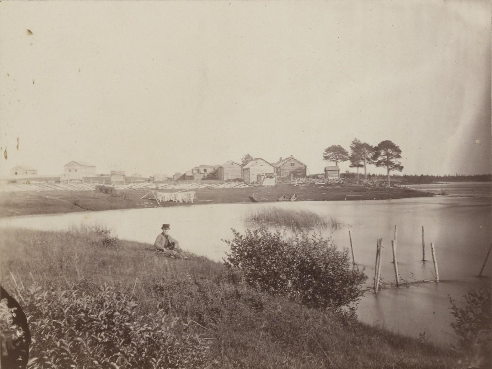 18. 1867. Вид на Пудасъярви