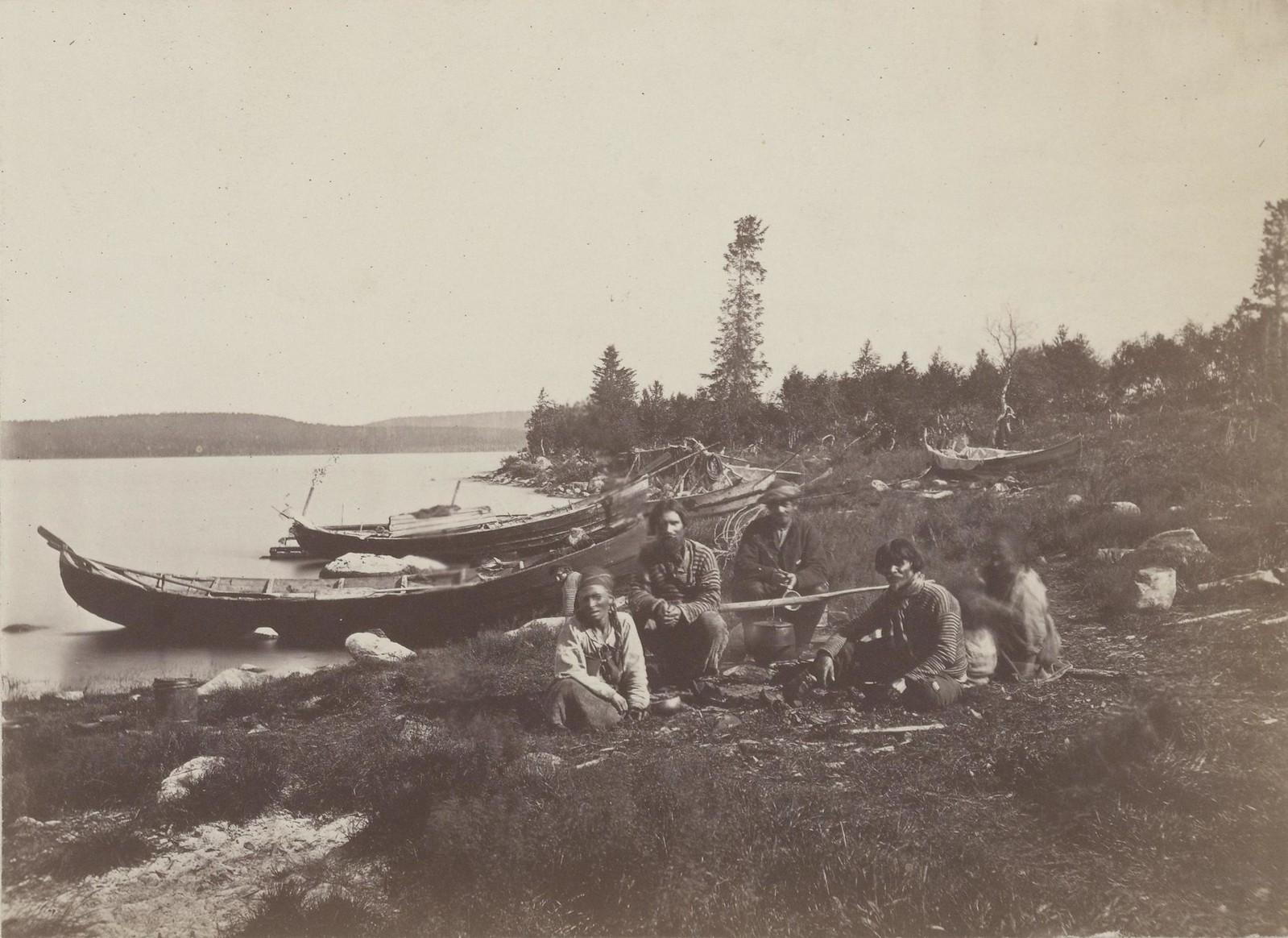 15. 1867. Отдых. Кольский полуостров