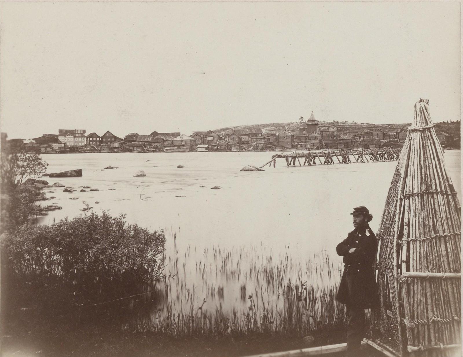 08. 1867. Панорама села Ковда