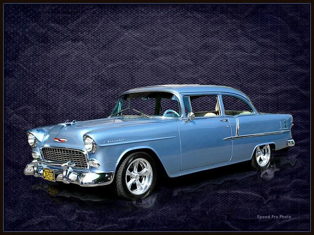 1955 Chevrolet 210 Blue