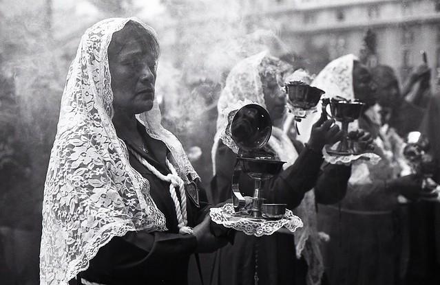 Ceremonia Religiosa, Cristo de los Milagros...