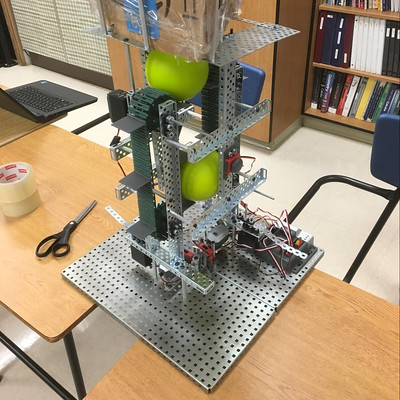 Colored Ball Sorting Robot