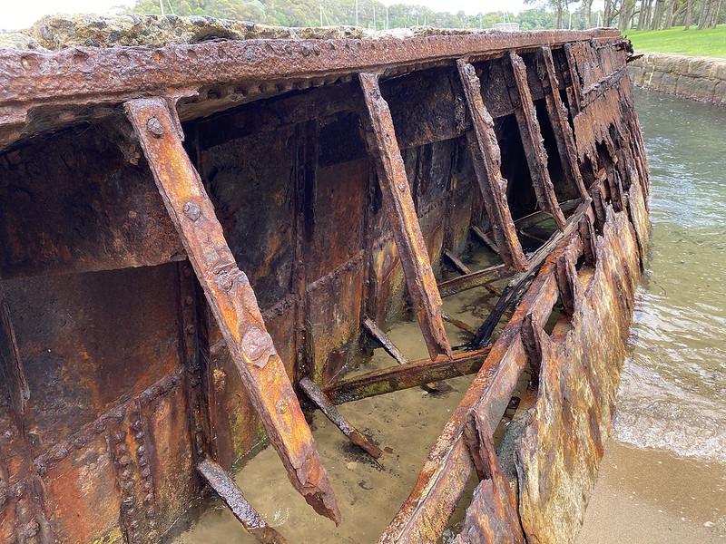 MSB hopper barge wreck