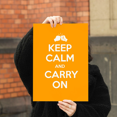 #힘내요! Keep Calm and Carry On