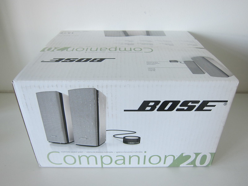 Bose Companion 20 Multimedia Speaker System - Box