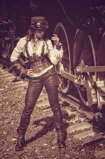 Стимпанк-портрет  Steampunk Portrait