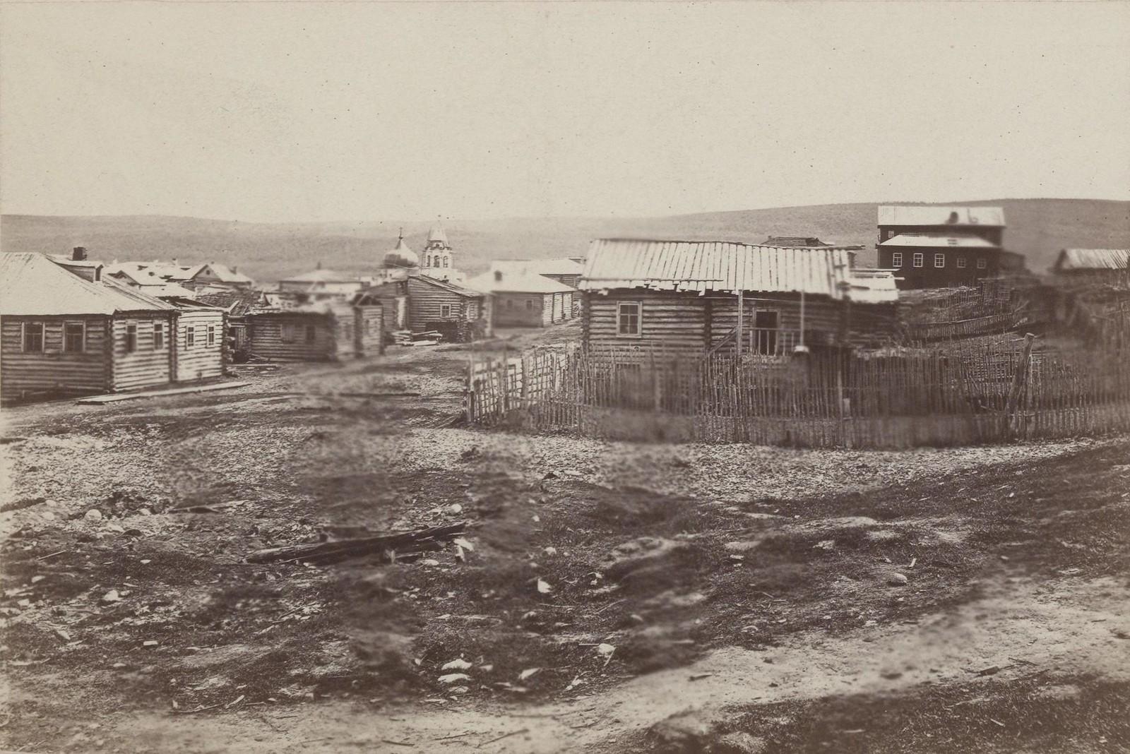 04. 1867. Кола. На дальнем плане видна маковка Благовещенской церкви