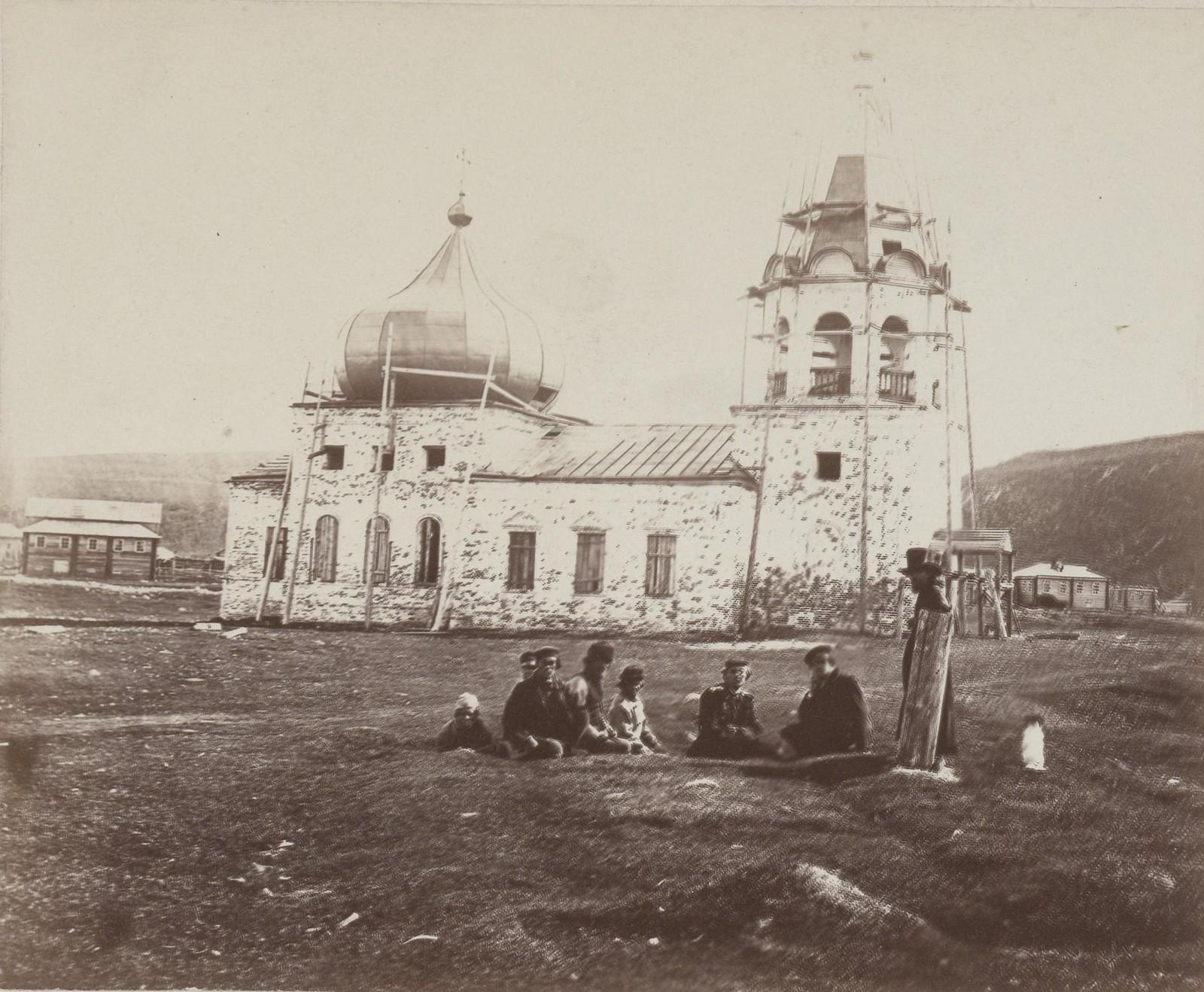 02. 1867. Кола. Восстановление Благовещенской церкви.