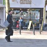Lone figure in Preston