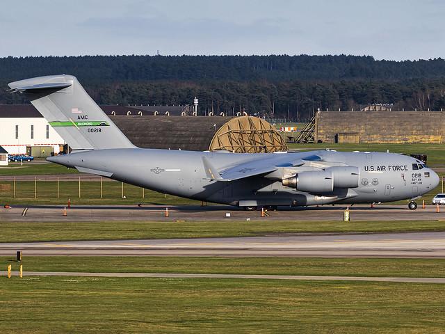 United States Air Force | Boeing C-17A Globemaster III | 10-0218