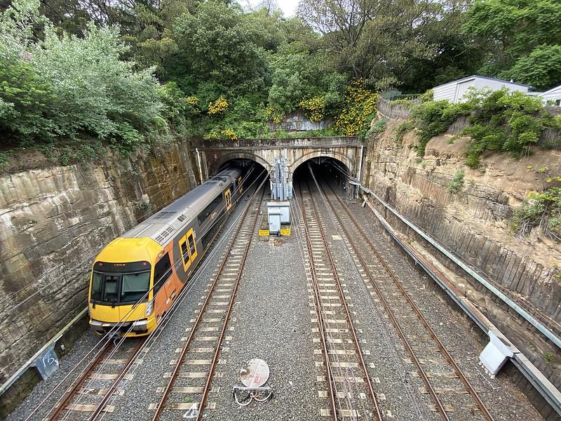 Waverton train tunnel
