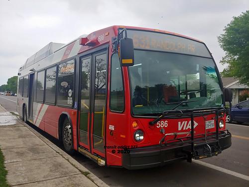 viametropolitantransit bus sanantonio texas lg g7 phonecamera 2020 novabus lfs cng compressednaturalgas