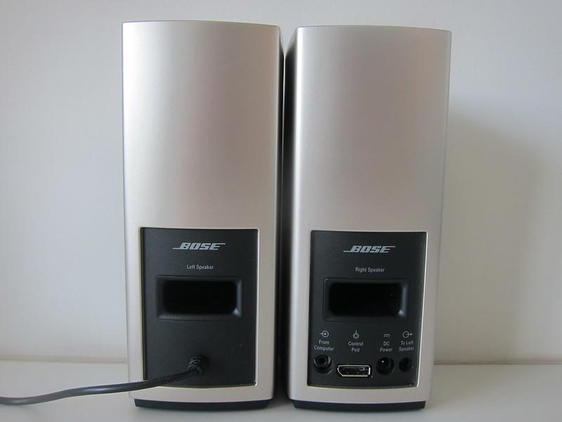 Bose Companion 20 Multimedia Speaker System - Back