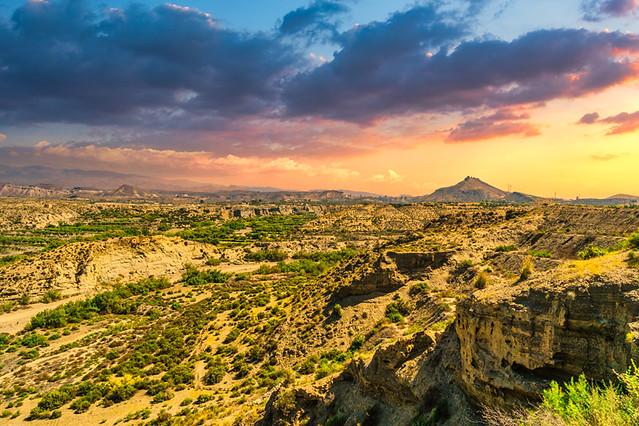 Almería - Tabernas - Desierto