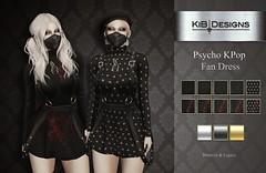 KiB Designer - Psycho Kpop Dress @Aenigma Event