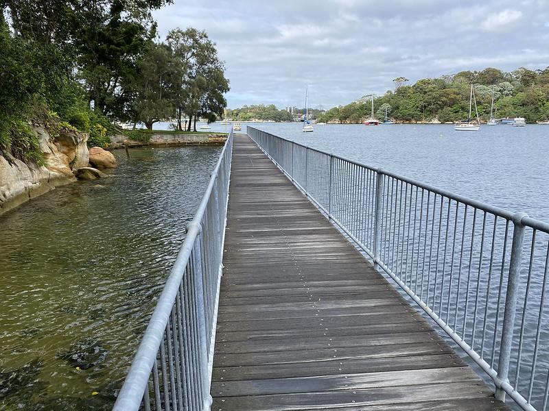 Berrys Bay walkway
