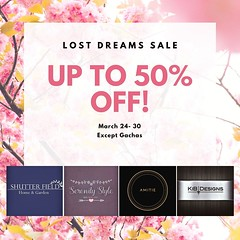 Lost Dreams Spring Sale