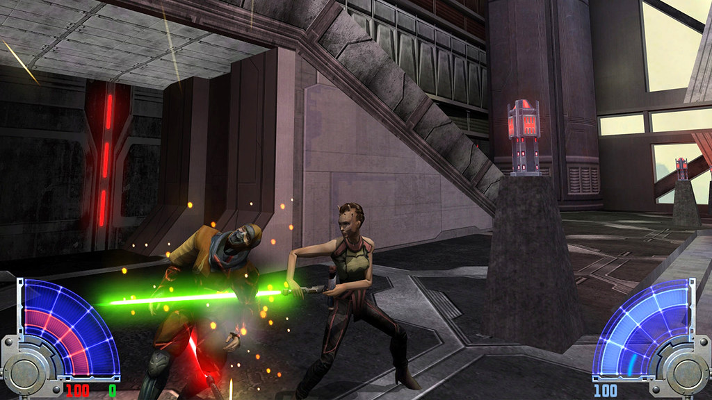 Star Wars Jedi Knight: Jedi Academy on PS4