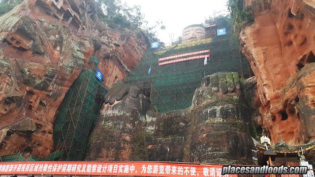 china le shan big buddha
