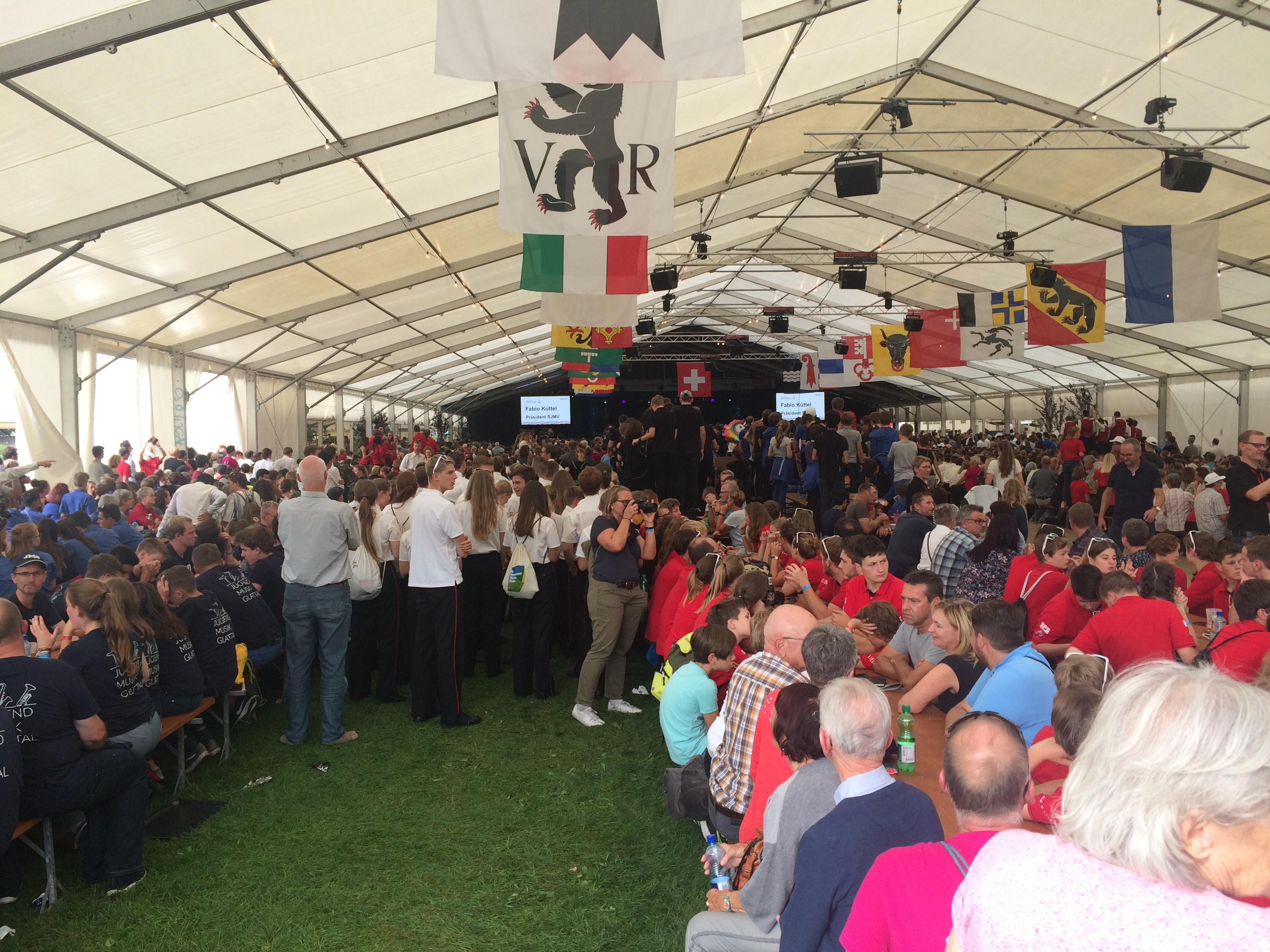 Schweizer Jugendmusikfest in Burgdorf, 21.-22. September 2019