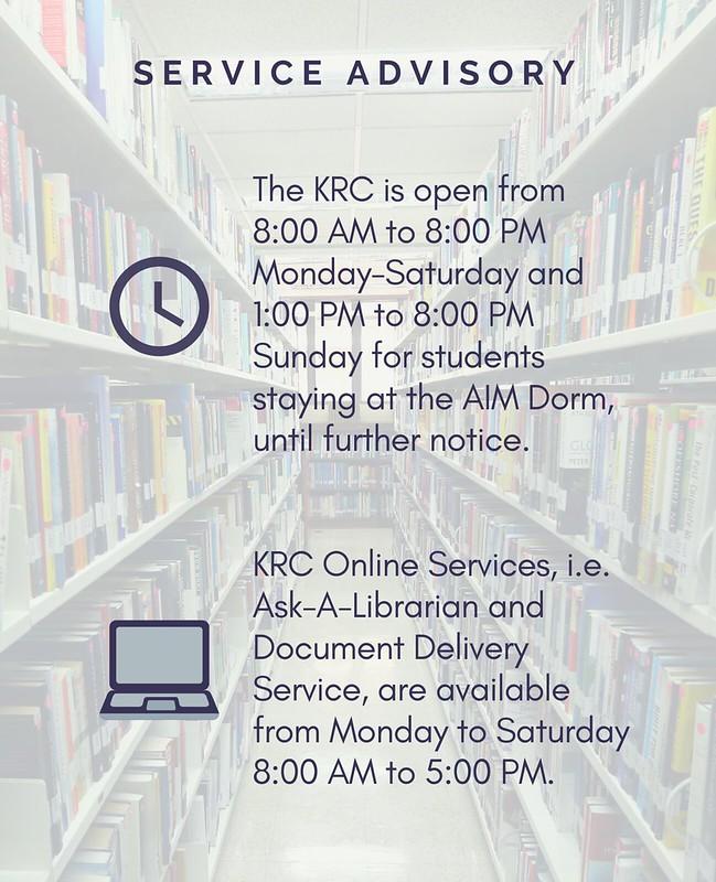 Service advisory (3)