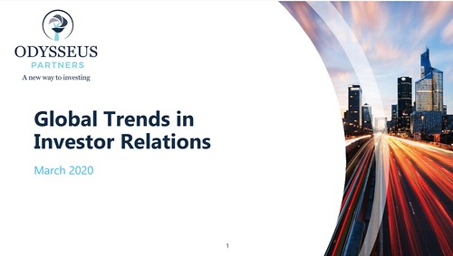 Global trends in Investor Relations