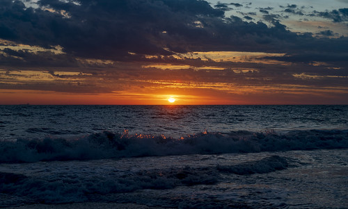 австралия australia перт perth пейзаж landscape океан море ocean sea пляж beach закат sunset круиз cruise dmilokt