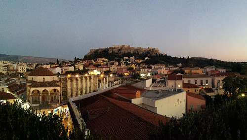 view acropolis from 360 degrees hotel 360° athens greece architecture above panorama